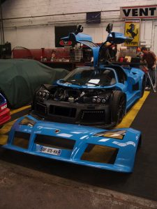 Gumpert Apollo track prep