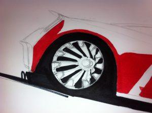 Drawing detail (wheel)