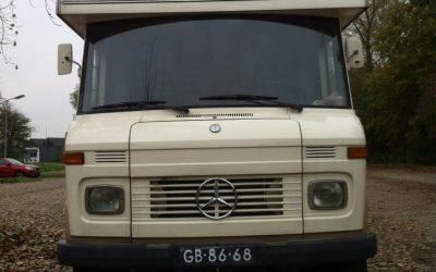 1974 Mercedes-Benz L608D SWB company car?