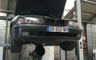 BMW e39 6-speed swap. Part 2.